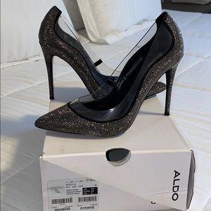 Aldo sparkly heels